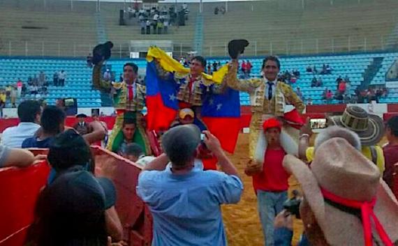 En Maracaibo… triunfan Paco Céspedes, Emilio Serna y Angel Ramos
