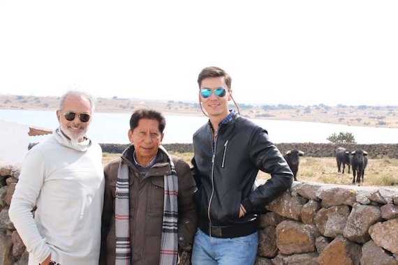 El Dandy ensayó en La Muralla acompañado de José Arcila