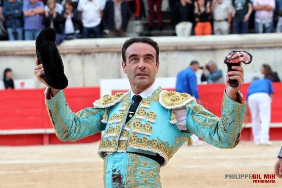 Enrique Ponce será quien sustituye a Roca Rey en la Goyesca de Arles