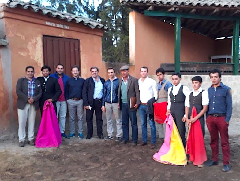 Juan Bautista y Santiago Fresneda ensayaron en la ganadería de Mondoñedo