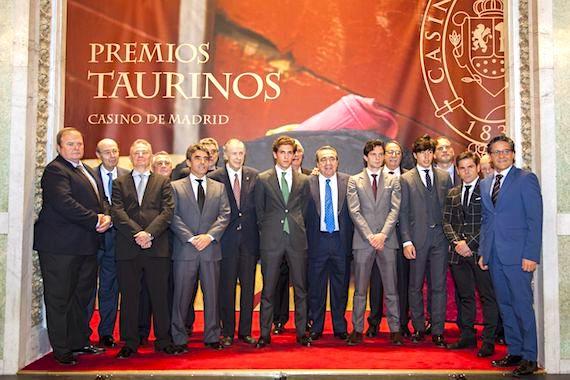 En elegante gala se han entregado de los XXIII Premios Taurinos Casino de Madrid