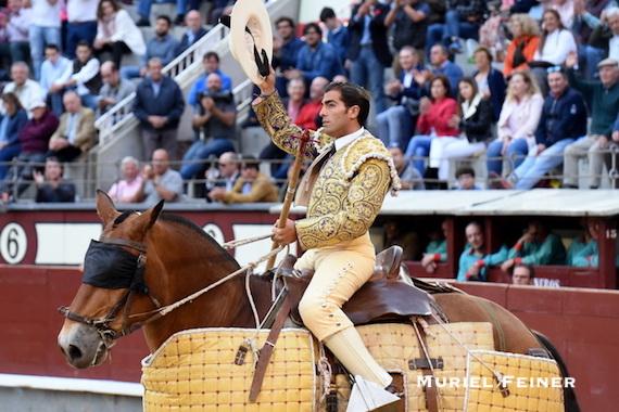 Lo dice Pepe Mata… Magnífico tercio de varas de Agustín Romero