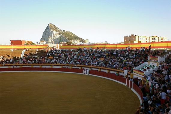 Corrida de toros en La Línea de la Concepción