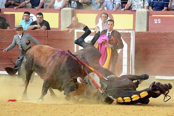 En Ciudad Real… Dos orejas para Ventura y cae herido Óscar Mota
