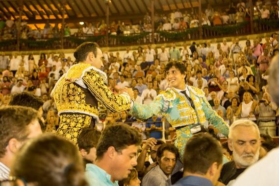 En Málaga… Ponce y Roca Rey dan una gran tarde y cortan tres orejas cada uno