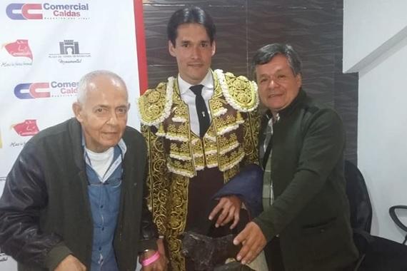David Martínez, declarado triunfador de Toros y Ciudad en Manizales