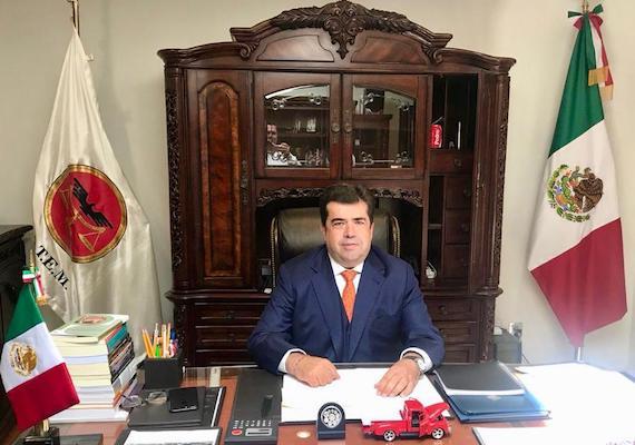 Pedro Haces, Presidente de la AMT, en pláticas con partidos Verde y Morena