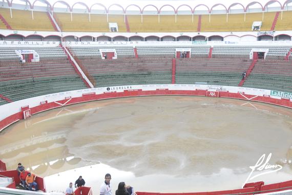 En Guadalajara… Se suspendió la novillada por lluvia
