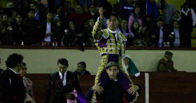 Galería de corrida celebrada el sabado 17 de noviembre en Tlaxcala
