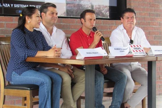 Antonio Ferrera convive con los medios en Mérida (Yucatán)