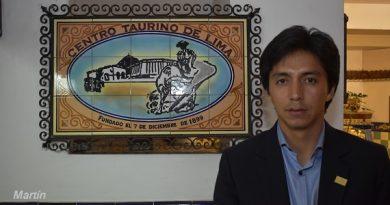 Centro Taurino de Lima rinde homenaje al matador Juan Carlos Cubas