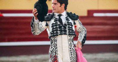 En Las Sanjoaninas… José Garrido da la única vuelta de la tarde