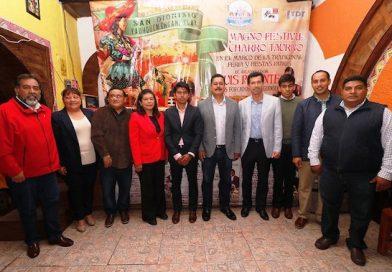Anuncia el festival charro taurino de San Dionisio Yauhquemeca