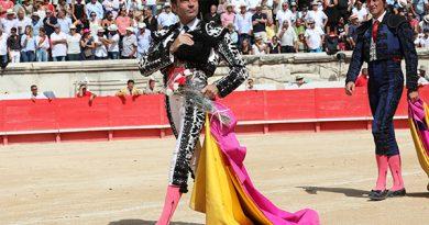 En Nîmes… Ponce corta un trofeo y puntuó Ureña