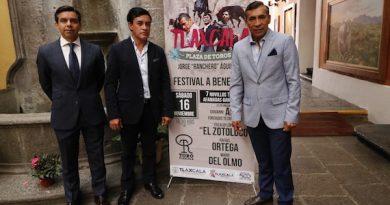 Dieron los pormenores del festival benéfico en Tlaxcala