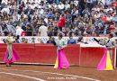 Galería del Maestro Sainos de la… segunda corrida de la actual Temporada Grande de la Monumental México