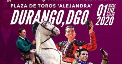 Andy Cartagena participará en corrida benéfica en Durango