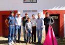 Isaac Fonseca, invitado de honor del ganadero Sergio Hernández Weber en Rancho Seco