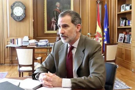 S.M. El Rey se reúne con Antonio Bañuelos, Presidente de la UCTL