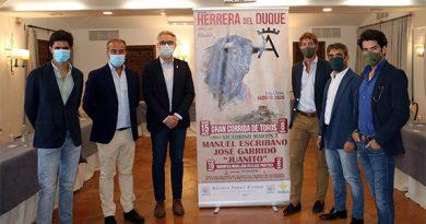 Ya es oficial el cartel de Herrera del Duque con toros de Victorinos