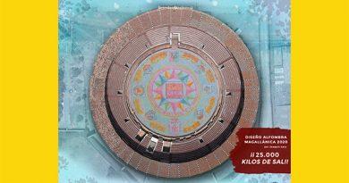Sanlucar ya tiene el diseño de la alfombra de sal que cubrirá el ruedo de la Magallánica 2020