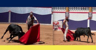 El Dandy tras permitirlo el confinamiento invitó a José Arcila a ensayar el toreo