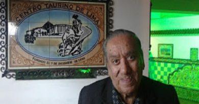 Falleció don Moisés Espinoza Zárate, decano de la prensa taurina del Perú