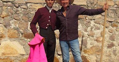Francisco Martínez estuvo en la ganadería de Santoyo