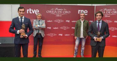 Paco Ureña y Santiago Domecq, galardonados por Clarín de RNE