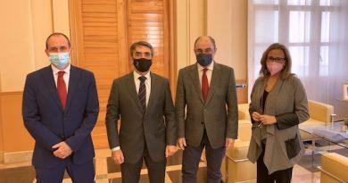 Importante reunión de la Fundación Toro de Lidia con el presidente de Aragón