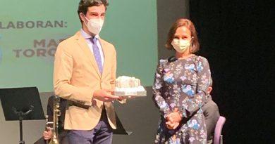 Tomás Rufo recibe un doble galardón en la gala taurina de Herrera del Duque