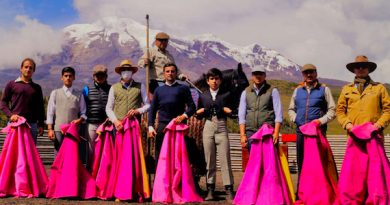 Una tienta de gran altura en la ganadería ecuatoriana Santa Martha – Pinar