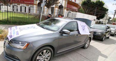 Se manifiestan en la ciudad de Puebla en defensa del arte del toreo