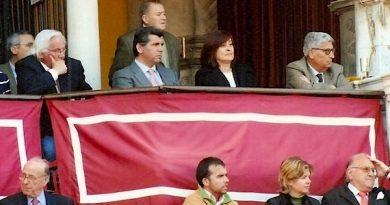 La entrevista de Antonio Lorca… Peripecias taurinas de una presidenta en el palco de la Maestranza de Sevilla