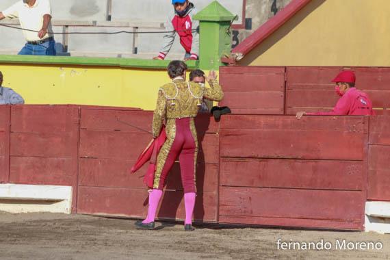Galería fotográfica de la corrida en la Rodolfo Rodríguez El Pana con una oreja Gerardo Adame y Gerardo Sánchez