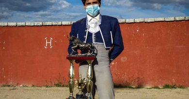 Joel Ramírez, triunfador del 1° certamen de novilleros organizado por la Asociación de Ganaderos de la Comunidad de Madrid
