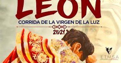 Corrida de toros en honor a la Virgen de La Luz en León
