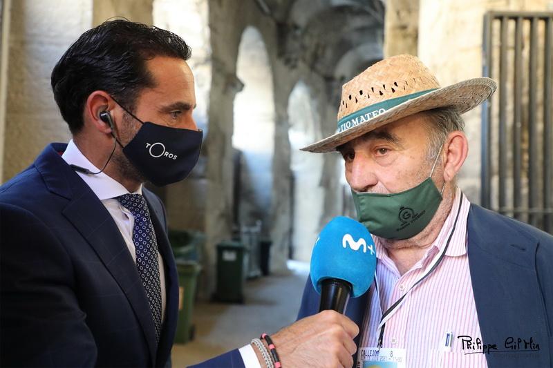 El ganadero de Fuente Ymbro Ricardo Gallardo