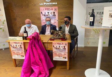 Emilio Serna acartelado en la localidad de Yecla, Murcia