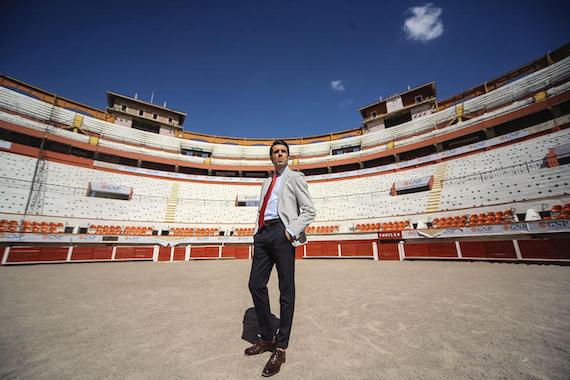 <strong>Emilio de Justo estuvo en la Monumental de Aguascalientes</strong>