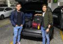 <strong>Llegaron a México los novilleros Miguel Aguilar y Emilio Barrantes</strong>